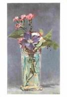 Art - Peinture - Edouard Manet - Oeillets Et Clématite Dans Un Vase De Cristal - Musée Du Louvre - Carte Neuve - CPM - V - Peintures & Tableaux