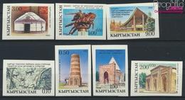 Kirgisistan 5B-11B (kompl.Ausg.) Ungezähnt Postfrisch 1993 Kultur (9458320 - Kyrgyzstan