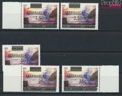 Aserbaidschan 70II-74II (kompl.Ausg.) Postfrisch 1992 Aufdruckausgabe (9458326 - Azerbaïdjan
