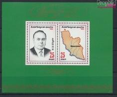 Aserbaidschan Block4I (kompl.Ausg.) Postfrisch 1993 Staatspräsident (9458324 - Azerbaïdjan