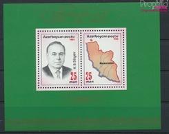 Aserbaidschan Block4II (kompl.Ausg.) Postfrisch 1993 Staatspräsident (9458323 - Azerbaïdjan
