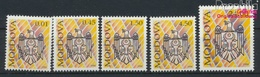 Moldawien 101-105 (kompl.Ausg.) Postfrisch 1994 Wappen (9458296 - Moldawien (Moldau)