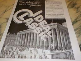 ANCIENNE PUBLICITE UNE VALEUR SUR CHAUFFAGE  IDEAL CLASSIC 1933 - Advertising