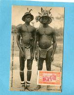 A O F- Sénégal- Types De Mankaignes+gros Plan Animé-édition Fortier-années 1910-20 - Senegal