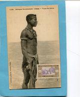 A O F- Sénégal- Types De Diola+gros Plan Animé-édition Fortier-années 1910-20 - Senegal