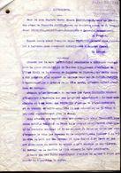 Tarbes  Conclusions  De 3 Pages  Affaire  J . Laffon D Contre J Piquemilh   Propriétaire à Larreule Son Marie ... - Manuscrits
