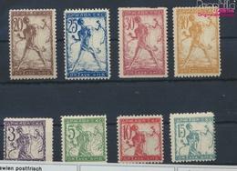 Jugoslawien 99I-106I (kompl.Ausg.) Postfrisch 1919 Freimarken (9463966 - Neufs