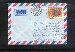 Togo 1992 Interesting Airmail Letter - Togo (1960-...)