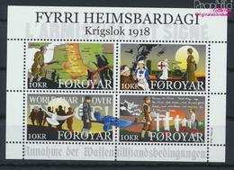 Dänemark - Färöer Block48 (kompl.Ausg.) Postfrisch 2018 1. Weltkrieg (9458477 - Féroé (Iles)