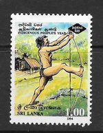 Sri Lanka 1994 Indigenous People's Year Rs1.00 Used Stamp SG1272 - Sri Lanka (Ceylan) (1948-...)