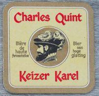 Sous-bock CHARLES QUINT KEIZER KAREL Bierdeckel Bierviltje Coaster (CX) - Sotto-boccale