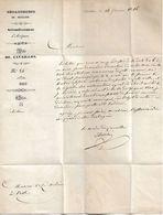 Lettre Du Maire De Cavaillon, 1846 - Historical Documents