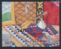 Kirgisistan Block2B (kompl.Ausg.) Postfrisch 1994 Musikinstrument (9458319 - Kyrgyzstan