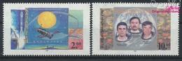 Kasachstan 86-87 (kompl.Ausg.) Postfrisch 1995 Kosmonautik (9458318 - Kazakhstan