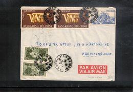 Vietnam 1955 Interesting Airmail Letter - Viêt-Nam