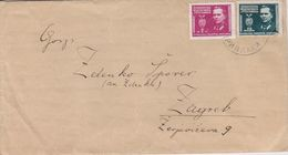 LETTRE, --  BRIEF  --  STEMPEL PRIVLAKA Bei VINKOVCI Nach ZAGREB, CROATIA - Lettres & Documents