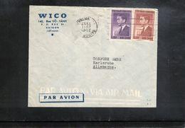 Vietnam 1957 Interesting Airmail Letter - Viêt-Nam
