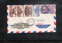 Vietnam  Interesting Airmail Letter - Viêt-Nam