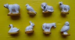Fève - Série Complète Animaux  - Blanc Comme Neige - Animali