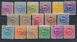 Österreich 721-737 (kompl.Ausg.) Gefälligkeitsentwertung Gestempelt 1945 Posthorn (9454564 - 1945-60 Usados