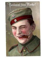 Ww1 - Verdammt Feine Marke - FELDPOST 1915 - Mainz - Humour