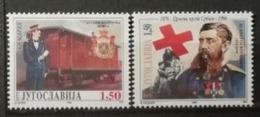 Yougoslavie 1996 / Yvert N°2634 + 2637 / ** - 1992-2003 République Fédérale De Yougoslavie