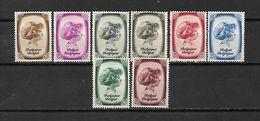 BELGIO - 1938 - N. 488/95* (CATALOGO UNIFICATO) - Belgium