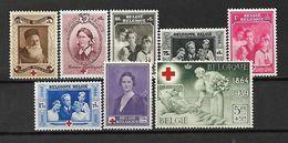 BELGIO - 1939 - N. 496/503* (N. 496 - 499 USATI) (CATALOGO UNIFICATO) - Belgium