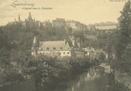 LU LUXEMBOURG  / L'Hopital Dans Le Pfaffenthal - Carte Bernhoeft Carte Réforme N° 14  /  Format Spécial 11,9 Cm * 17 Cm - Luxemburg - Stad