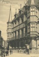 LU LUXEMBOURG  / Le Palais - Carte Bernhoeft Carte Réforme N° 45 /  Format Spécial 11,9 Cm * 17 Cm - Luxemburg - Stad
