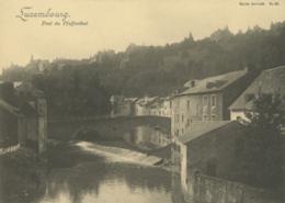 LU LUXEMBOURG  / Pont Du  Pfaffenthal - Carte Bernhoeft Carte Réforme N° 89 /  Format Spécial 11,9 Cm * 17 Cm - Luxemburg - Stad