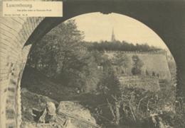 LU LUXEMBOURG  / Vue Prise Sous Le Nouveau Pont - Carte Bernhoeft Carte Réforme N° 6 /  Format Spécial 11,9 Cm * 17 Cm - Luxemburg - Stad