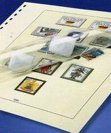 Vordruck-Album Portugal 2001 Neu 36€ LINDNER-T 220/01 Ohne Falz Jahrgang 12 Seiten Komplett Stamps Page Of Albums - Album & Raccoglitori