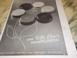 ANCIENNE PUBLICITE UNE FLEUR MULTICOLORE  GIBBS 1933 - Parfum & Kosmetik