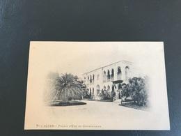 5 - ALGER Palais D'Eté Du Gouverneur - Alger