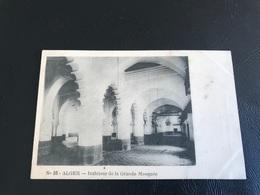 55 - ALGER Interieur De La Grande Mosquée - Alger