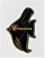 Pin's Poisson Philanima Animalerie Lanester Morbihan - 117R - Cities
