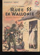 """Fascicule Collection """"Patrie Libérée"""" - Ruée SS En Wallonie  - Editions Rouff 1950 - Bon état - 1900 - 1949"""
