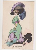 """Carte Fantaisie Signée F.Lafon  / Mode . La Jupe-culotte """"A La D'Artagnan"""" - Künstlerkarten"""