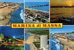 Marina Di Massa - Formato Grande Viaggiata – E 16 - Massa