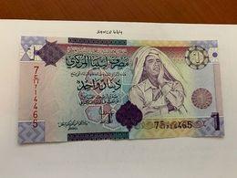 Libya 1 Dinara Uncirc. Banknote 2009 #1 - Libyen