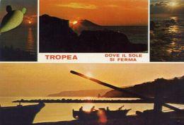 Tropea - Dove Il Sole Si Ferma - Formato Grande Non Viaggiata – E 16 - Italy