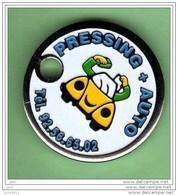 Jeton De Caddie *** PRESSING AUTO *** NEUF *** (041) - Gettoni Di Carrelli