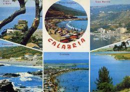 Calabria - Sila - Praia A Mare - Pizzo Calabro - Vibo Marina - Diamante - Crotone - Formato Grande Non Viaggiata – E 16 - Italy