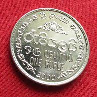 Sri Lanka 1 One Rupee 2000 KM# 136a  *V2 - Sri Lanka
