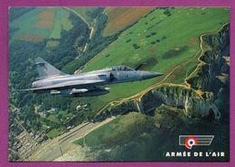 Mirage 2000  C  RDI De L'Escadron De Chasse 1/12 Cambrésis Survolant Les Falaises D'Etretat - 1946-....: Modern Era