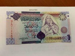 Libya 1 Dinara Uncirc. Banknote 2009 #5 - Libyen