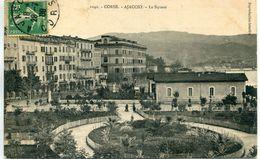 -2A-CORSE-  AJACCIO - Le Square      Collection  J.Moretti,Corte - Ajaccio