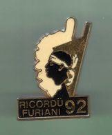 CORSE *** RICORDU FURIANI 92 ***  Signe BERAUDY *** 1003 (29) - Villes