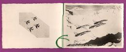 Carte De Voeux à 2 Volets De La 11ème Escadre De Chasse. Avions F-100 D/F Super Sabre. Base 136 De Bremgarten. 1962 - 1946-....: Ere Moderne